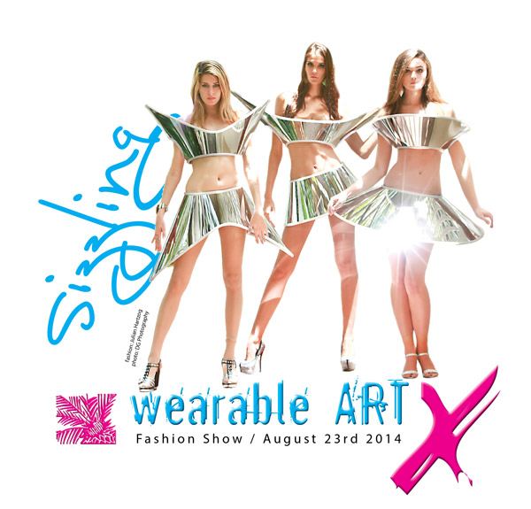 wearable ART X - fashion show - August 23, 2014
