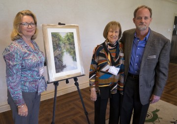 DFAC_Sterling_Society-L-to-R-Mary_Louise_Pollock_artist-Syd_Entel_Sterling_Society_co-president-Christopher_Still_2016_Patron_of_the_Arts (1)
