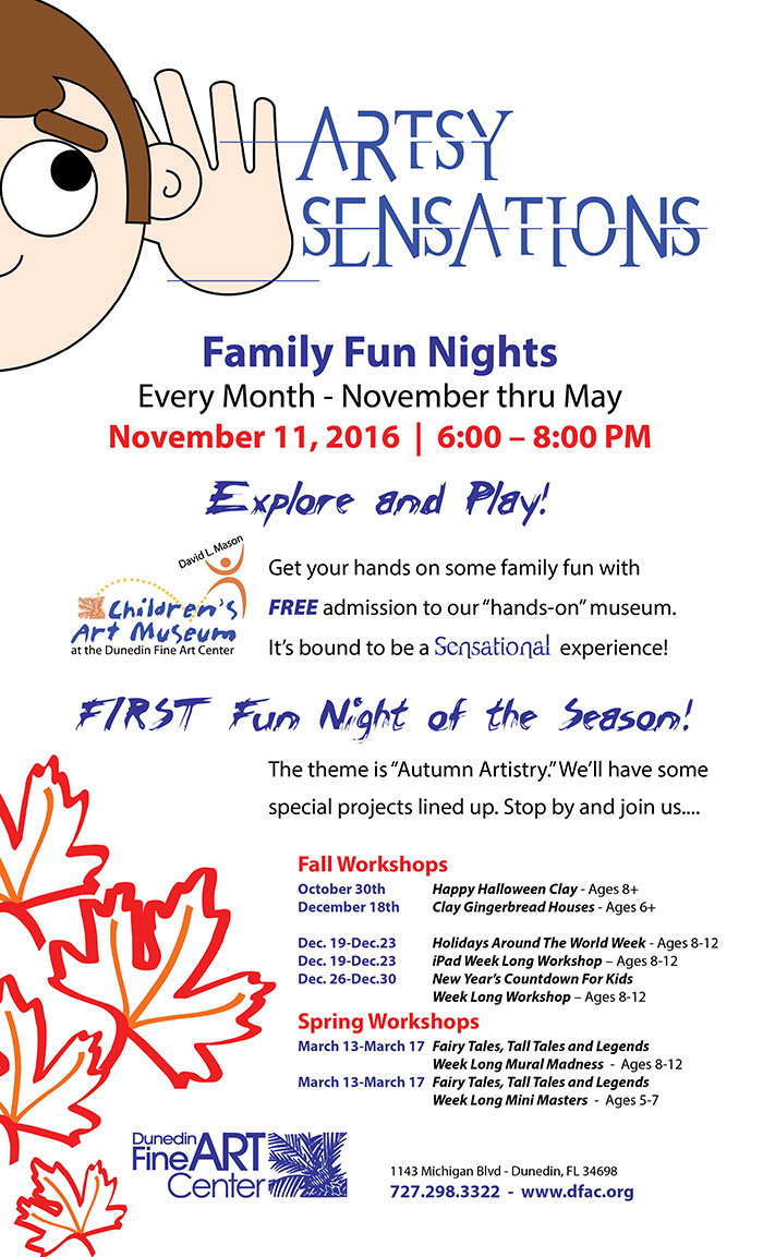 """Family Fun Nights Every Month - November thru May November 11, 2016  