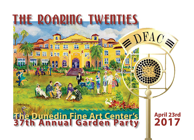 The ROARING Twenties   - The Dunedin Fine Art Center's 37th Annual Garden Party  -  April 23rd 2017