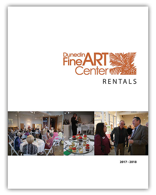 At the Dunedin Fine Art Center, we have a beautiful space for all kinds of private events.