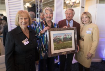 Left to Right - Syd Entel, Event Co-Chair and 2008 Patron of the Arts  -  Judy and Bill Isaly, 2017 Patron of the Arts  Award Honorees  -  Linda Wittmershaus-Macik, Event Co-Chair