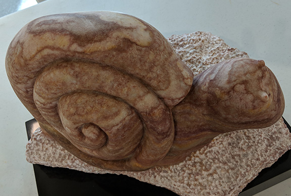 Suncoast Stone Sculptors Guild artists continue pursuing the ancient craft of stone carving. Mar 9, 2018, they host a show at the Dunedin Fine Art Center.