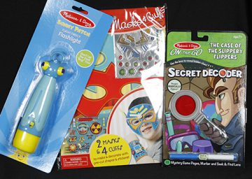 Toys by Melissa & Doug are some manufactured items on sale inside the Gallery Gift Shop at the Dunedin Fine Art Center.