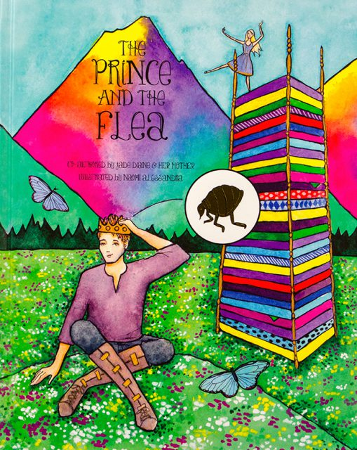 The Prince and The Flea by Jade Diane and Victoria Michael are one of many books by artists on consignment inside the Dunedin Fine Art Center Gallery Shop.